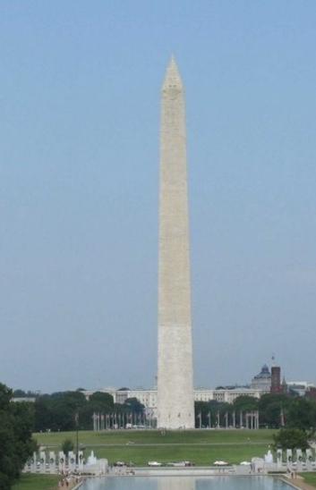 Erecting obelisk