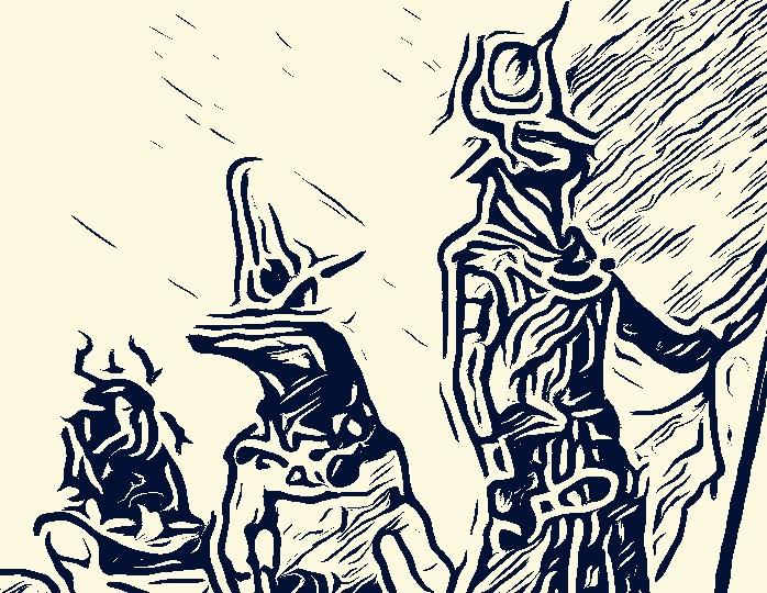 3 deities...