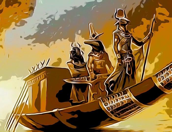 solar barge...