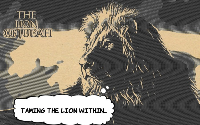 lion of judah...