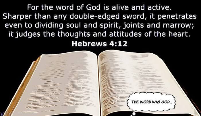 the word of God...