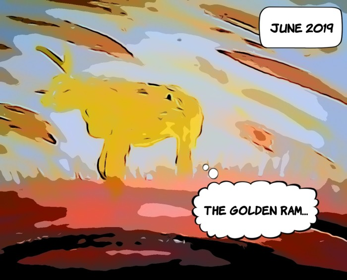 the yellow ram...